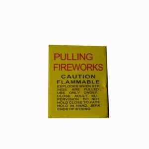 Pulling Fireworks